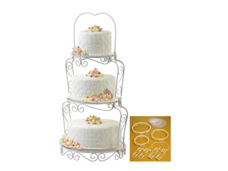 優雅三層蛋糕架