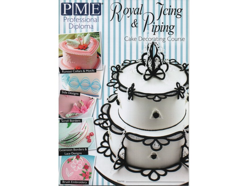 PME Royal Icing 進階擠花課程