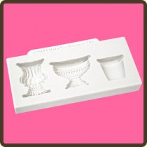 Pots & Urns Cake mould