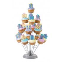 19粒杯子蛋糕架