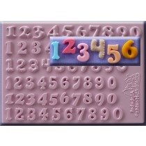 6款數字矽膠模Set of 6 Numbers 12mm AM0174