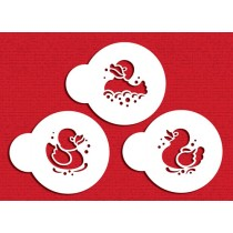 C795-Mini Rubber Duck Stencil Set