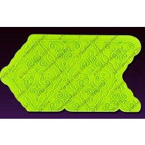 04102700Filigree Damask Pattern Silicone Onlay