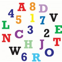 Alphabet&Number Cutter Set