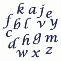 AC-Lower Case Script
