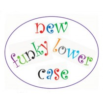 Funky Alphabet Cutter Set Lower Case