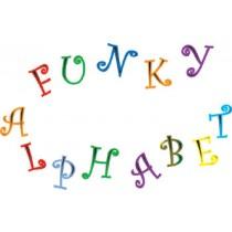Funky Alphabet&Number Set