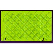 04102809Houndstooth Silicone Onlay