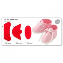 JEM Life Size Baby Bootee Cutter Set