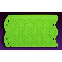 04102908Moroccan Lattice Silicone Onlay