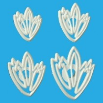 Lace Leaf Cutter Set Ref: LL14