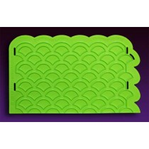 04103004Scalloped Lattice Silicone Onlay